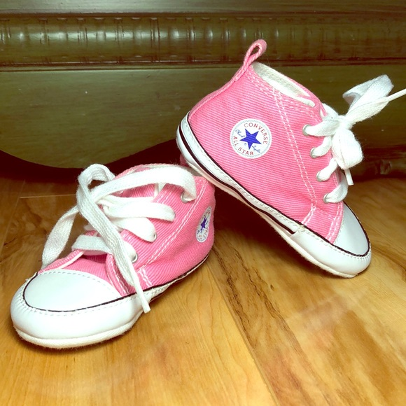 Converse Shoes | Infant Baby Girl Pink